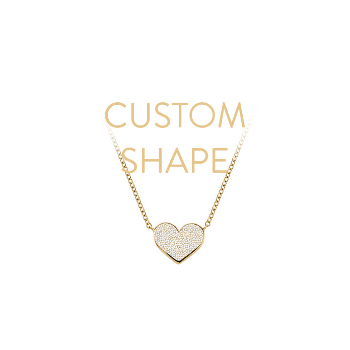 CUSTOM MINI SHAPE NECKLACE