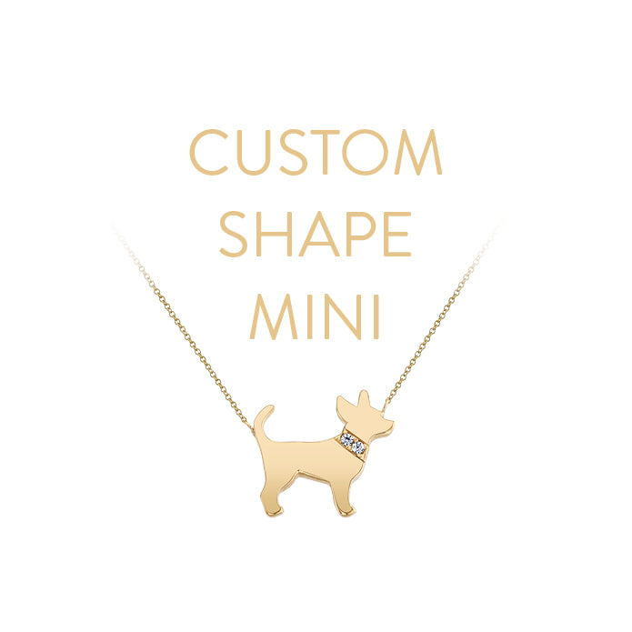 CUSTOM MINI DOG NECKLACE