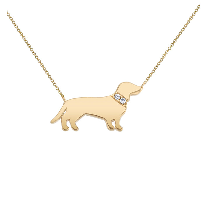 OSCAR: DACHSHUND MINI NECKLACE
