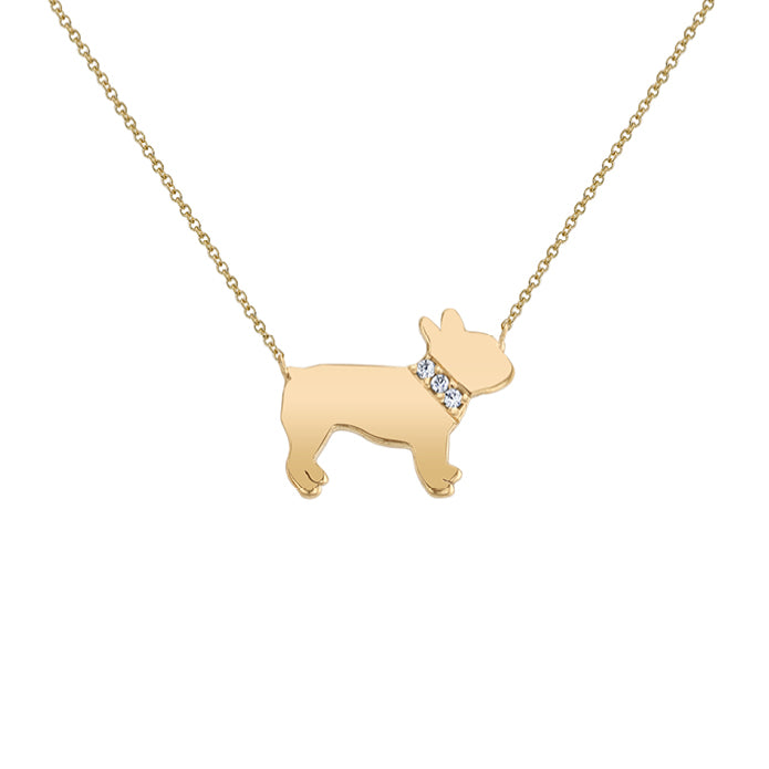 MONTE: FRENCHIE MINI NECKLACE