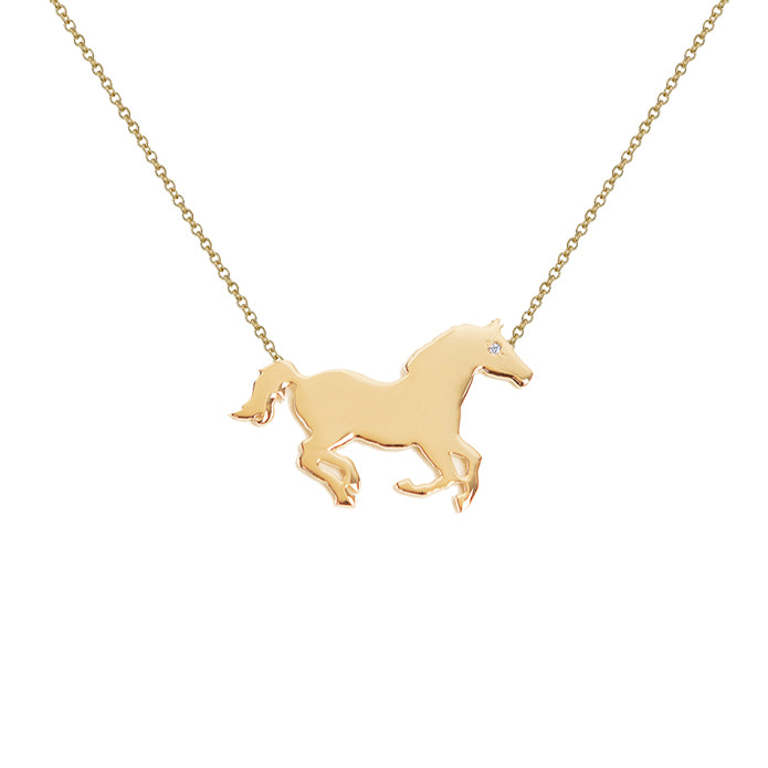 CHANCE: HORSE MINI NECKLACE