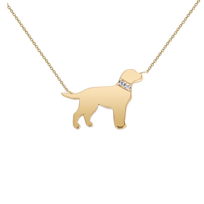 FONZIE: LABRADOR MINI NECKLACE