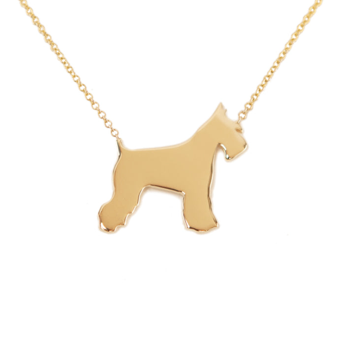 ATTICUS: SCHNAUZER, WELSH TERRIER NECKLACE