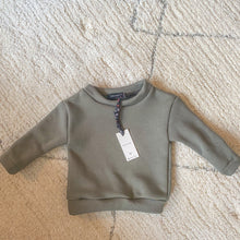 Afbeelding in Gallery-weergave laden, Wild Rose - Army Green Sweater (uniseks)