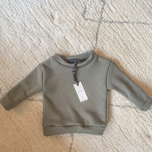 Wild Rose - Army Green Sweater (uniseks)