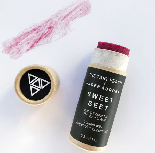 Sweet beet natural colour for lip and cheek