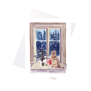 Watercolour Holiday Cards - various