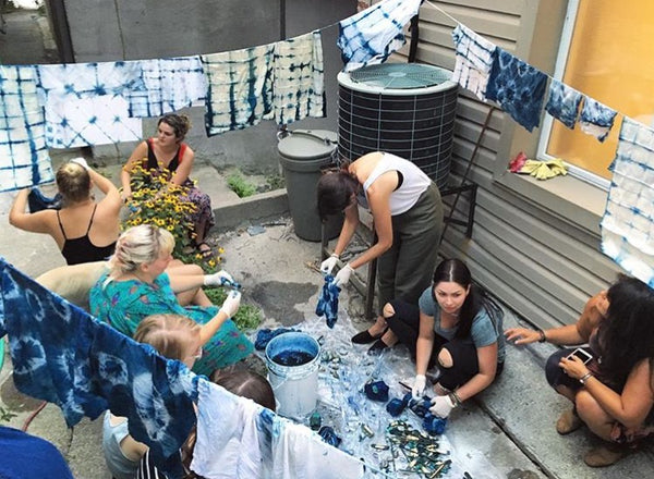 Indigo Dyeing with Brooke | Sunday April 28th, 6:30-8:30