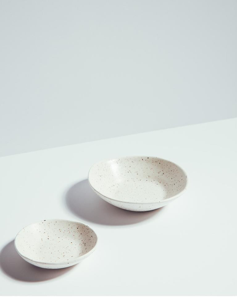 Satin Porcelain Small Plates
