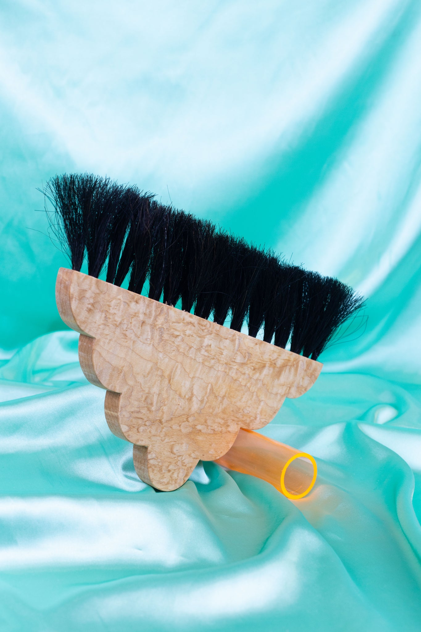 Sculptural brush broom