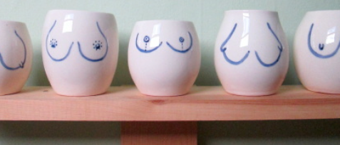 Boob Cup - various colours