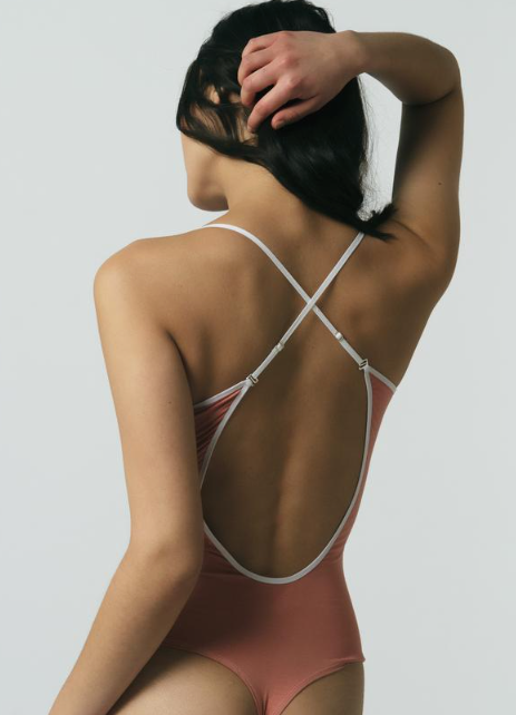 Two-way Strap Bodysuit