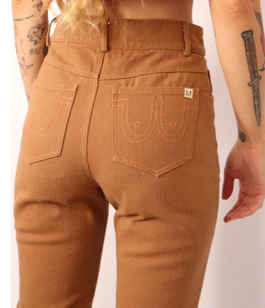 Brown Worker Pants