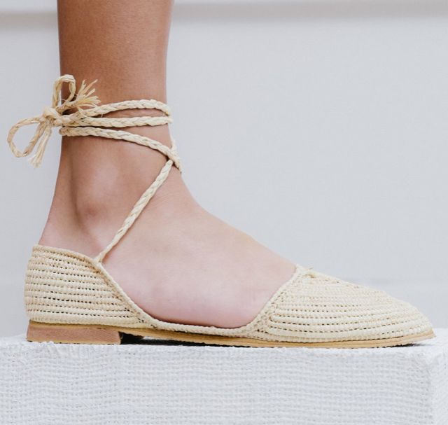 Rocca Espadrille in Natural