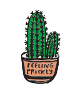 Feeling Prickly pin