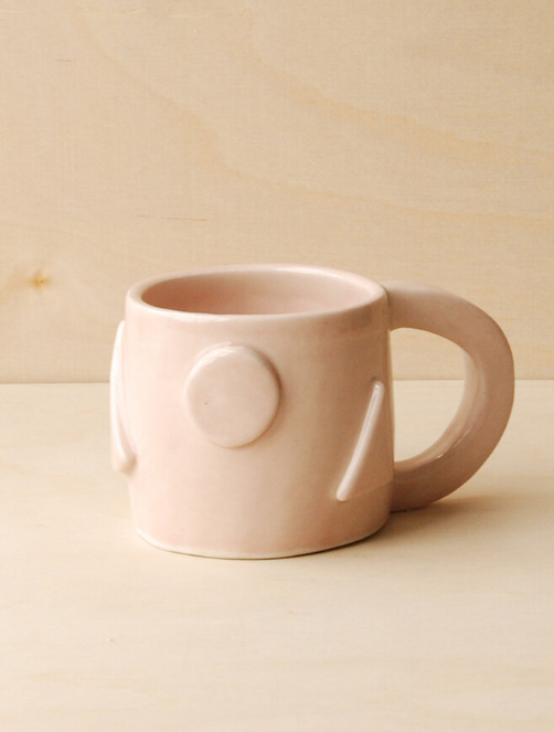 Nightshift Ceramics Geometric Mug