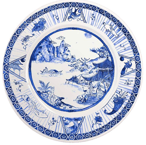 Porcelain Pleasure Plates