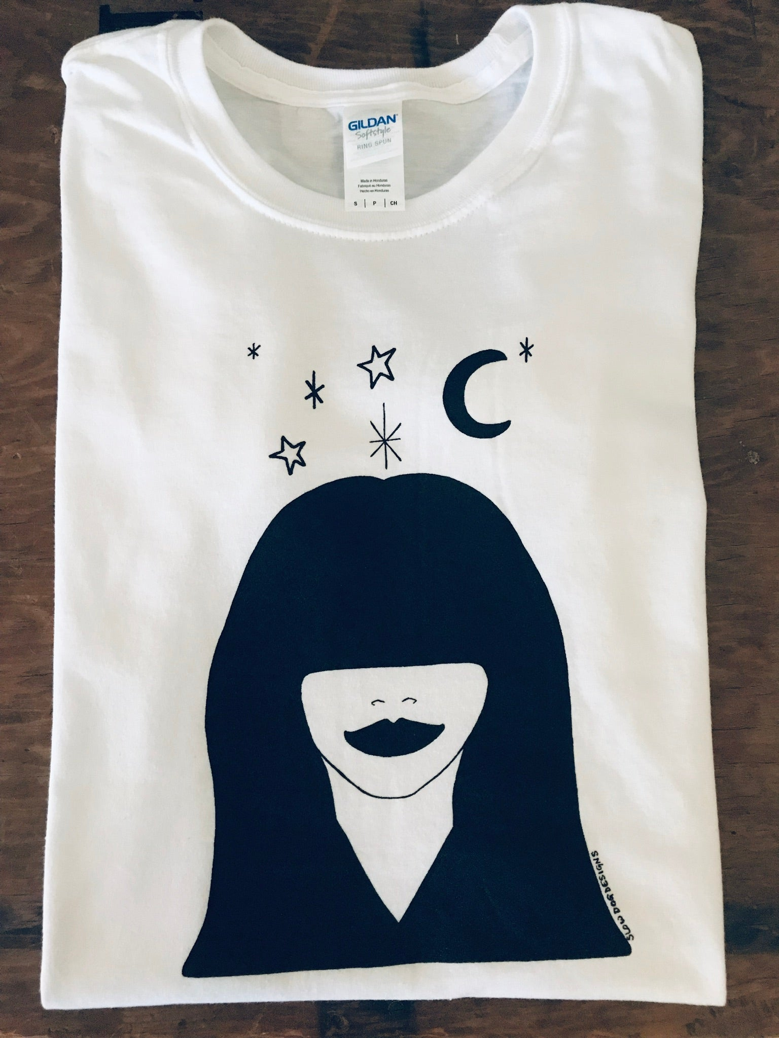 Night Star Tee by Slow Dog Designs