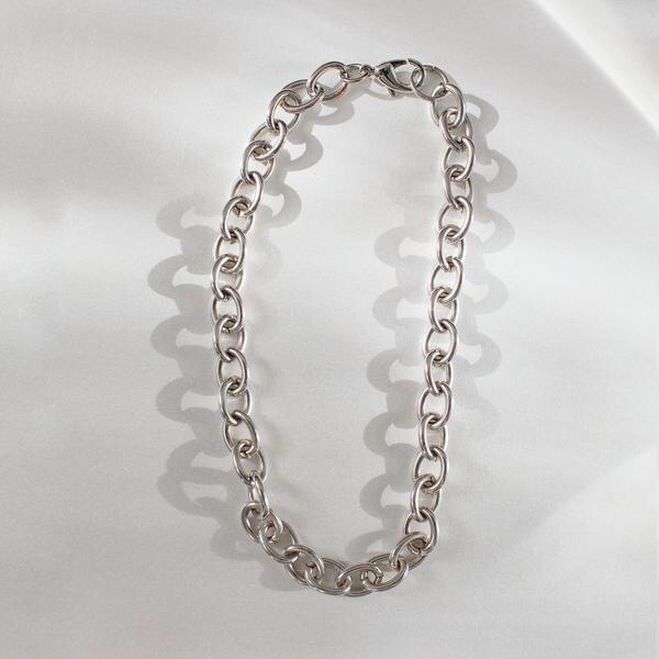 Eleventh House Silver Chain Necklace