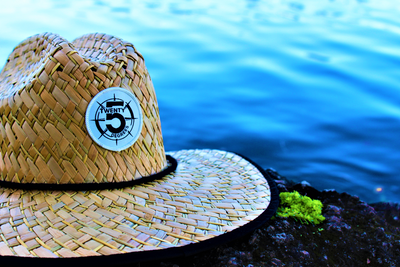 Straw Lifeguard Hat