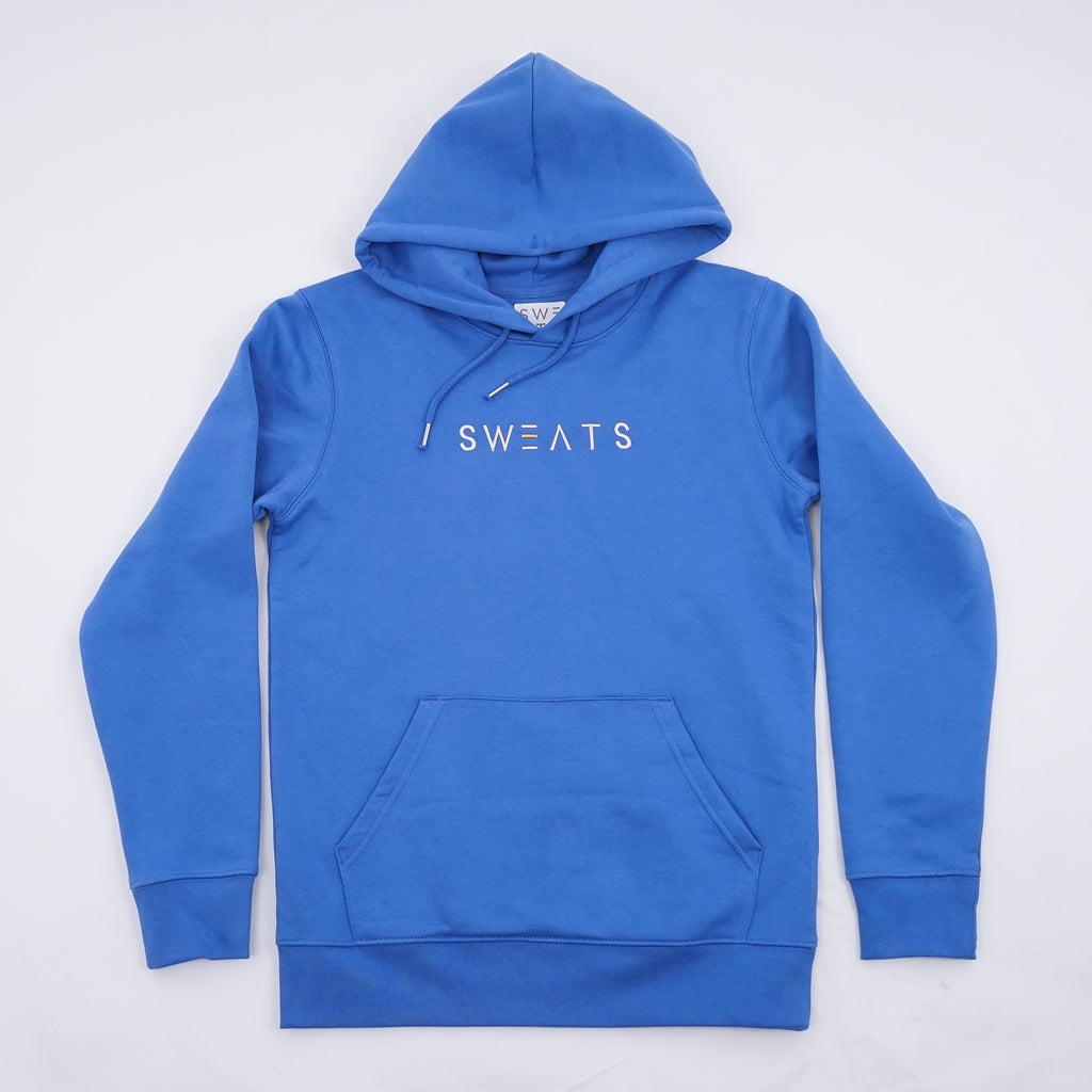 MENS - BRIGHT BLUE - ORIGINAL - HOODIE