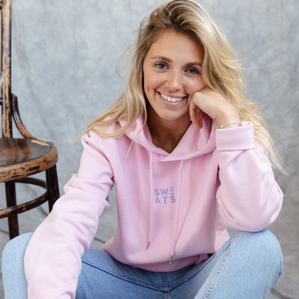 WOMENS - COTTON PINK - CLASSIC - HOODIE