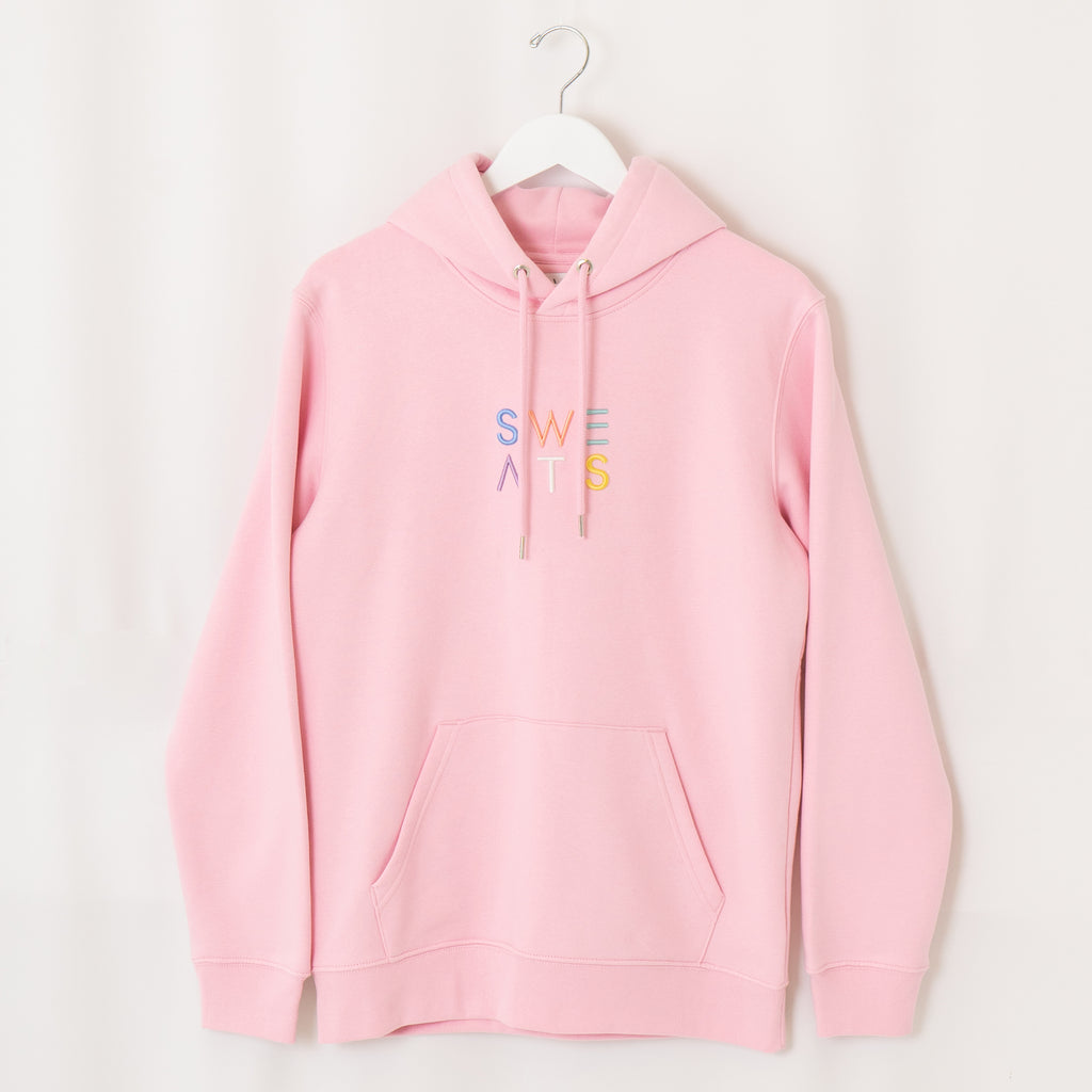 WOMENS - COTTON PINK - PASTEL 3D - HOODIE