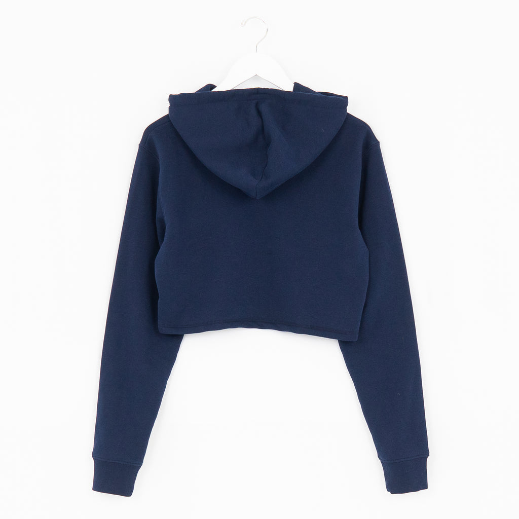 WOMENS - FRENCH NAVY - CROPPED - HOODIE