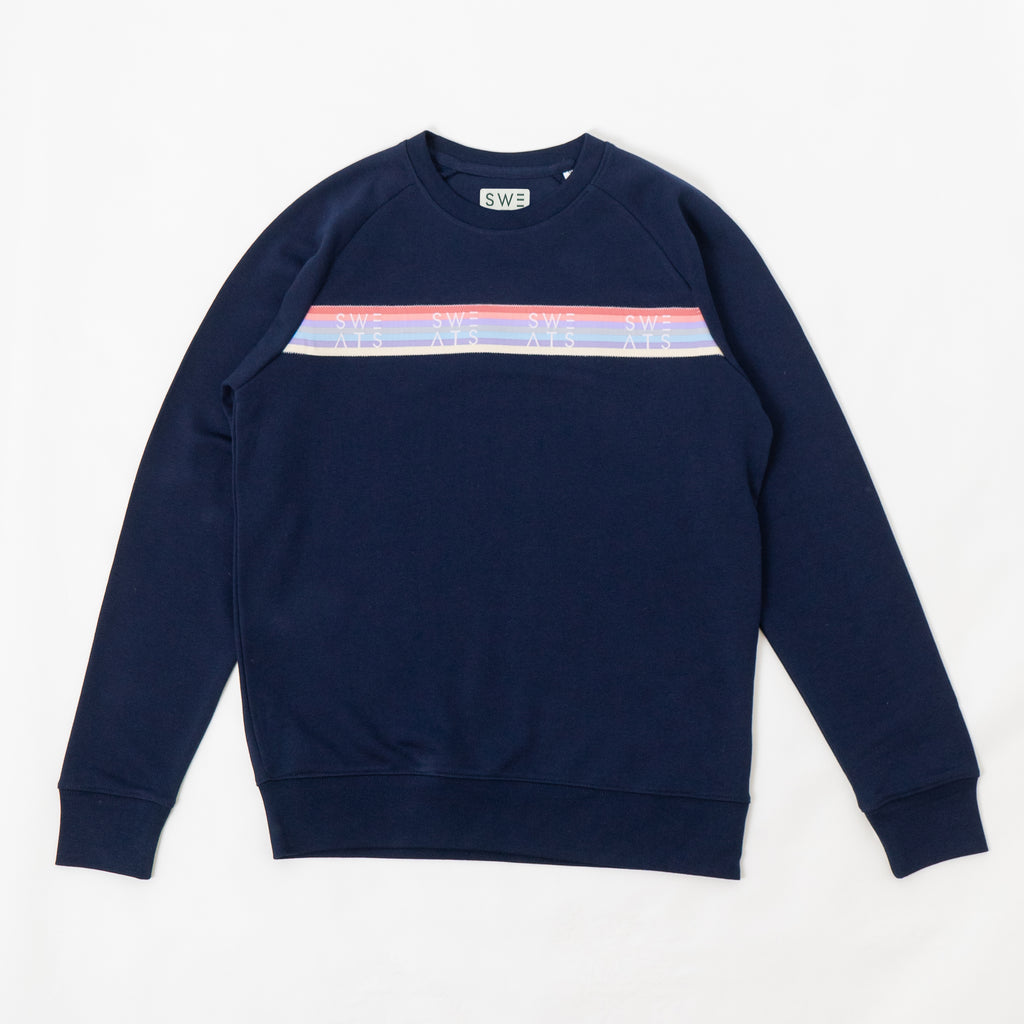 WOMENS - FRENCH NAVY - PASTEL RIBBON - SWEATSHIRT