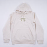 MENS - NATURAL RAW - CLASSIC OUTLINE - HOODIE