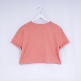 WOMENS - ROSE CLAY - CLASSIC - CROPPED T-SHIRT