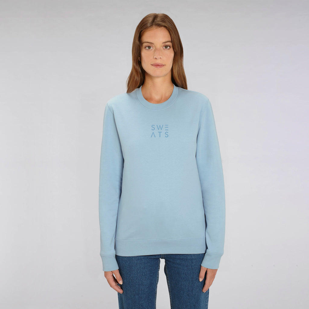 WOMENS - SKY BLUE - BLOCK 3D - SWEATSHIRT