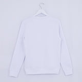 WOMENS - WHITE - LIGHT STRIPES - SWEATSHIRT