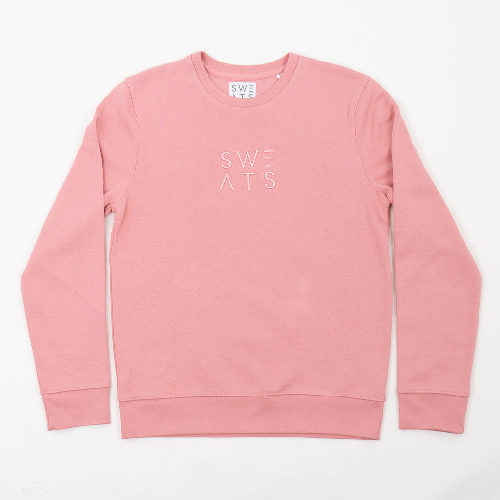 WOMENS - CANYON PINK - BLOCK 3D - SWEATSHIRT