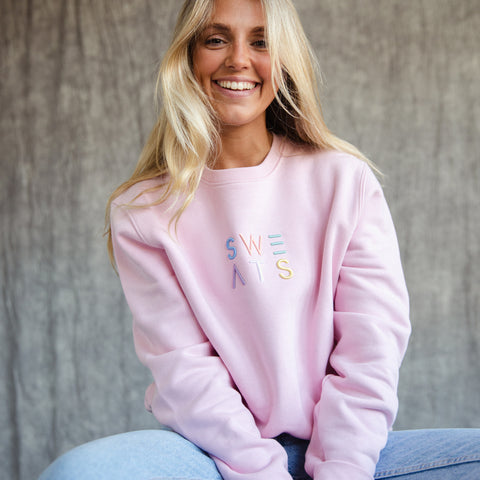 WOMENS - COTTON PINK - PASTEL 3D - SWEATSHIRT