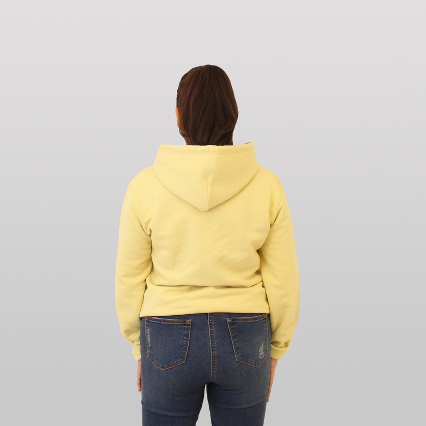 WOMENS - YELLOW MIST - BLOCK 3D - HOODIE