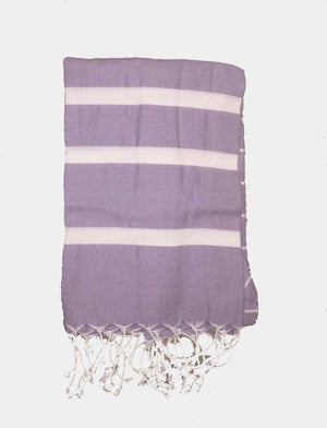 koton kulture toronto turkish towel infinity water lavender white stripped poncho with tassels for babies kids