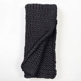 Gage Cable Knit Throw