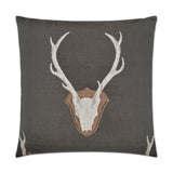 Uncle Buck Pillow Gray