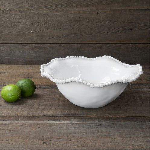 VIDA Alegria Medium Bowl White