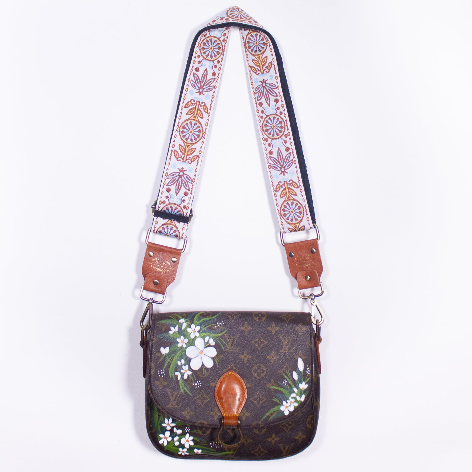 Louis Vuitton Cross Body Floral