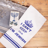 I Can't Keep Calm I'm Jewish Kitchen Towel