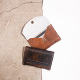 Cowhide Brindle Card Wallet