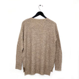 V-neck Sweater Mocha