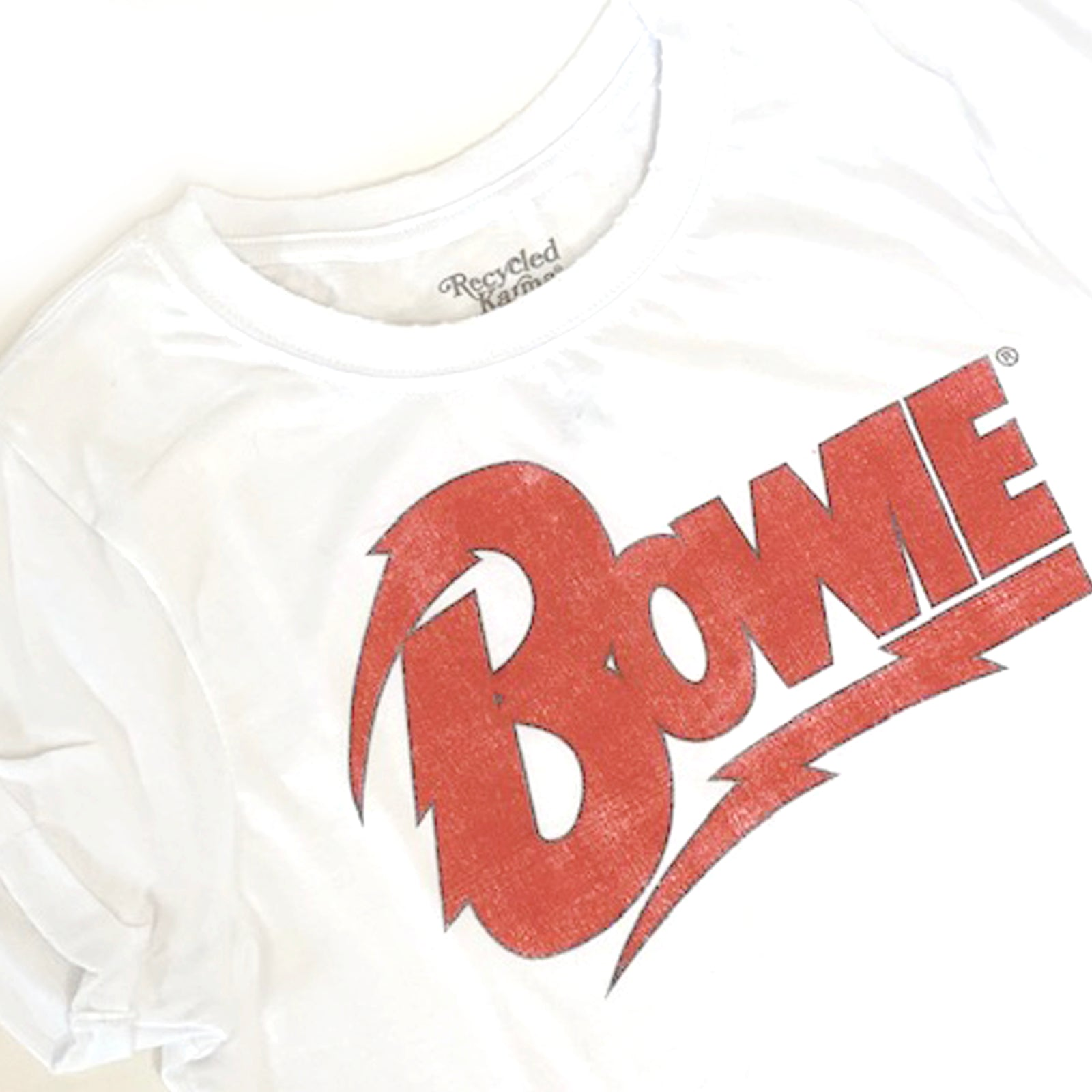 Bowie Roll Up Tee