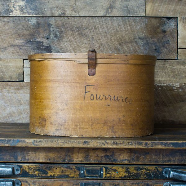 French Hat Box - Large