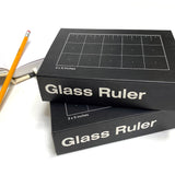 Glass Ruler Inches