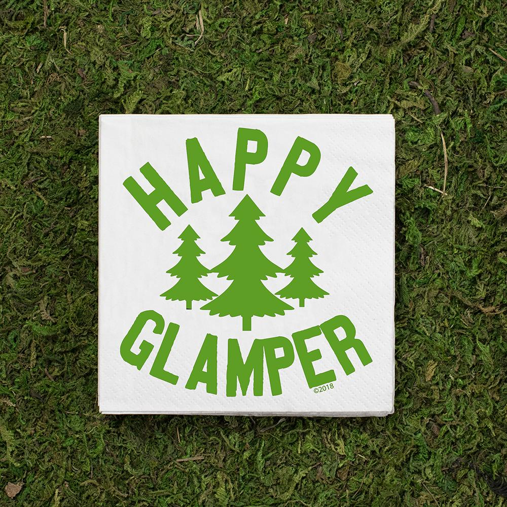 Happy Glamper Cocktail Napkins