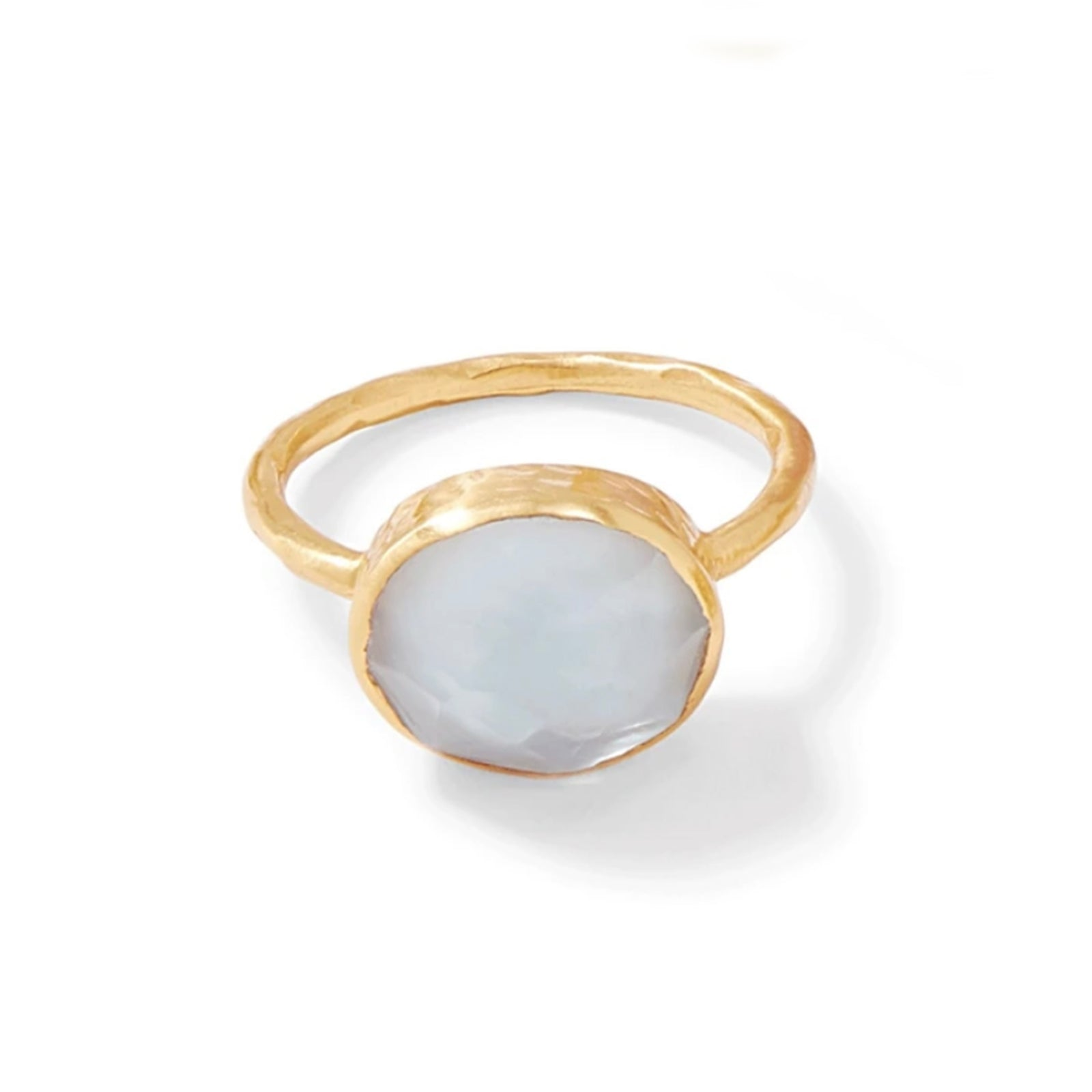 Honey Stacking Ring - Crystal