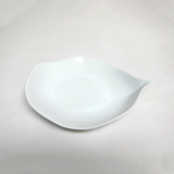 Porcelain Tropical Leaf Pasta Bowl